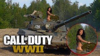 НА ТАНКЕ ПРОТИВ НЕМЕЦКИХ ТИГРОВ! - Call of Duty: WW2 #5