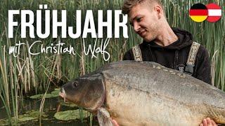 Karpfenangeln im Frühjahr mit Christian Wolf | Angeln an neuen Gewässern | Flachlandsee & Baggersee