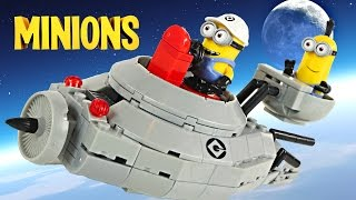MINIONS Megabloks Despicable Me LEGO 194 Piece Spaceship | Disney Frozen Castle with Olaf