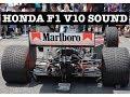 "【HONDA F1 V10 Sounds】爆音!青山一丁目の伝説"" McLaren HONDA MP4/5"