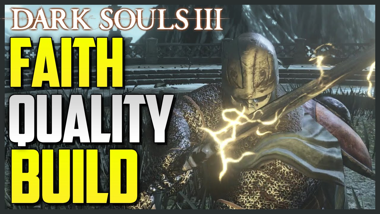 Dark Souls 3 Quality/Faith Build - Dark Sword PVP (700+ DAMAGE)