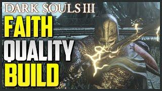 Dark Souls 3 Quality/Faith Build - Dark Sword PVP (700+ DAMAGE)