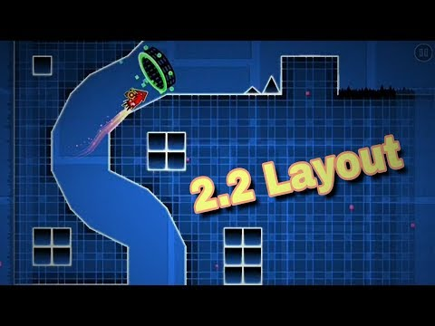 "Geometry dash 2.2 layout | ""Fly Away"""