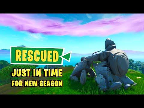 Stone Family Happy Ending In Fortnite Update 9.41 (Stone Son Rescued From Cliff)