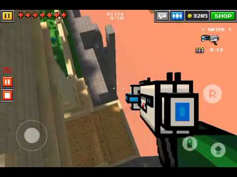 Pixel gun 3d cool hiding spot on heavin gardens