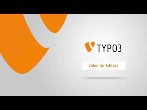 Introduction to TYPO3 7 LTS for Editors