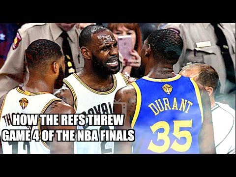 How the refs THREW Game 4 of the NBA Finals! (Rigged) - YouTube
