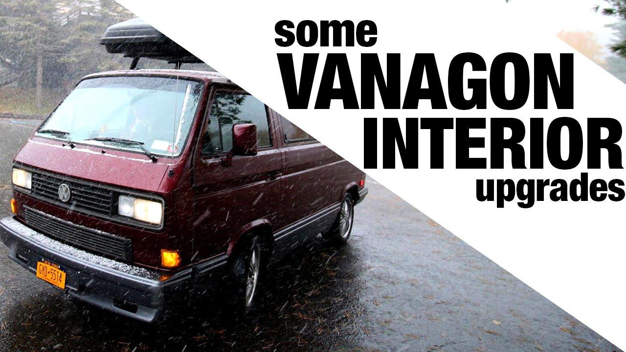 Some Vanagon Interior Upgrades Youtube