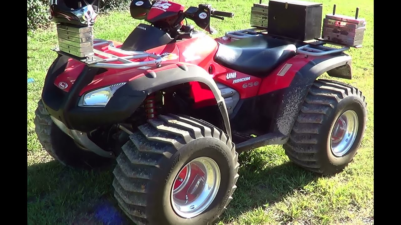 Valley Motor Honda >> Nitrous Breathing 2003 Honda 650 Ricon ATV - YouTube