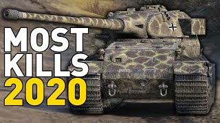 MOST KILLS in 2020 in World of Tanks
