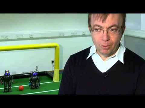 Robot Footballers Hoping For Cup Win - BBC News