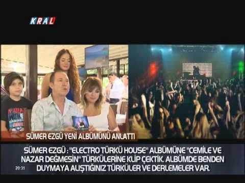 Sümer Ezgü  Electro Türkü House yeni albümünü basın mensuplarına tanıttı