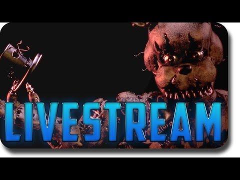 Five Nights at Freddy's 4 - LIVESTREAM (FNAF 4 gameplay)
