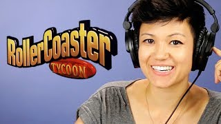 '90s Kids Play RollerCoaster Tycoon