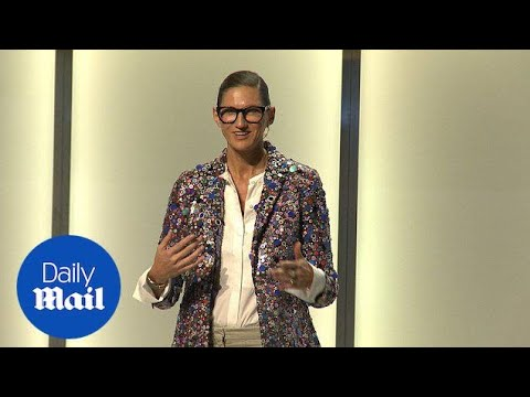 Jenna Lyons talks being the boss at Glamour's Women Summit - Daily Mail