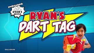 Ryan's Dart Tag Renegade Rapid Fire Barrel Blaster   Ryan's World Blasters
