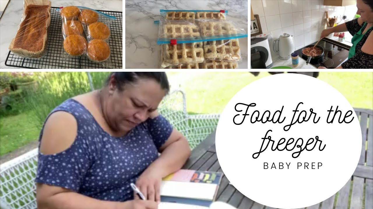 Freezer meals for post partum - Getting ready for baby PART 1