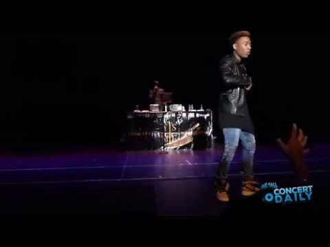 "Jacob Latimore performs ""Like Em All"" live at Yard Status Music Festival"