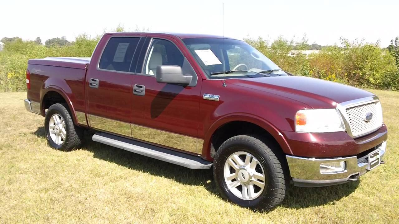cheap used trucks for sale 2004 ford f150 lariat f501523n youtube. Black Bedroom Furniture Sets. Home Design Ideas