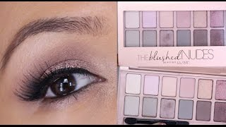 Fresh and Sultry Maybelline The Blushed Nudes Palette Tutorial! thumbnail