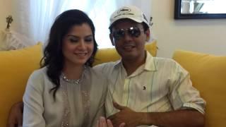 MW TV : Ucapan Raya Lisa Surihani dan Yusry
