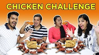 CHICKEN EATING CHALLENGE | CHICKEN + COKE COMPETITION | चिकन ईटिंग चॅलेंज