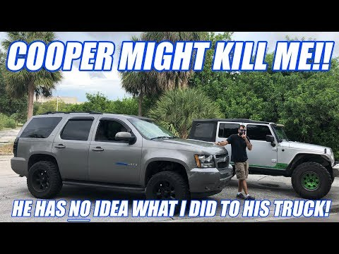 I STOLE Coopers Old Fat Hoe And Modded It While He Is Out Of Town! (Dont Be Mad Cooper!)