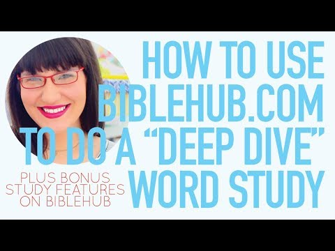 How To Do An In-Depth New Testament Word Study!
