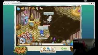 A horrible person on Animal Jam(Inappropriate den)