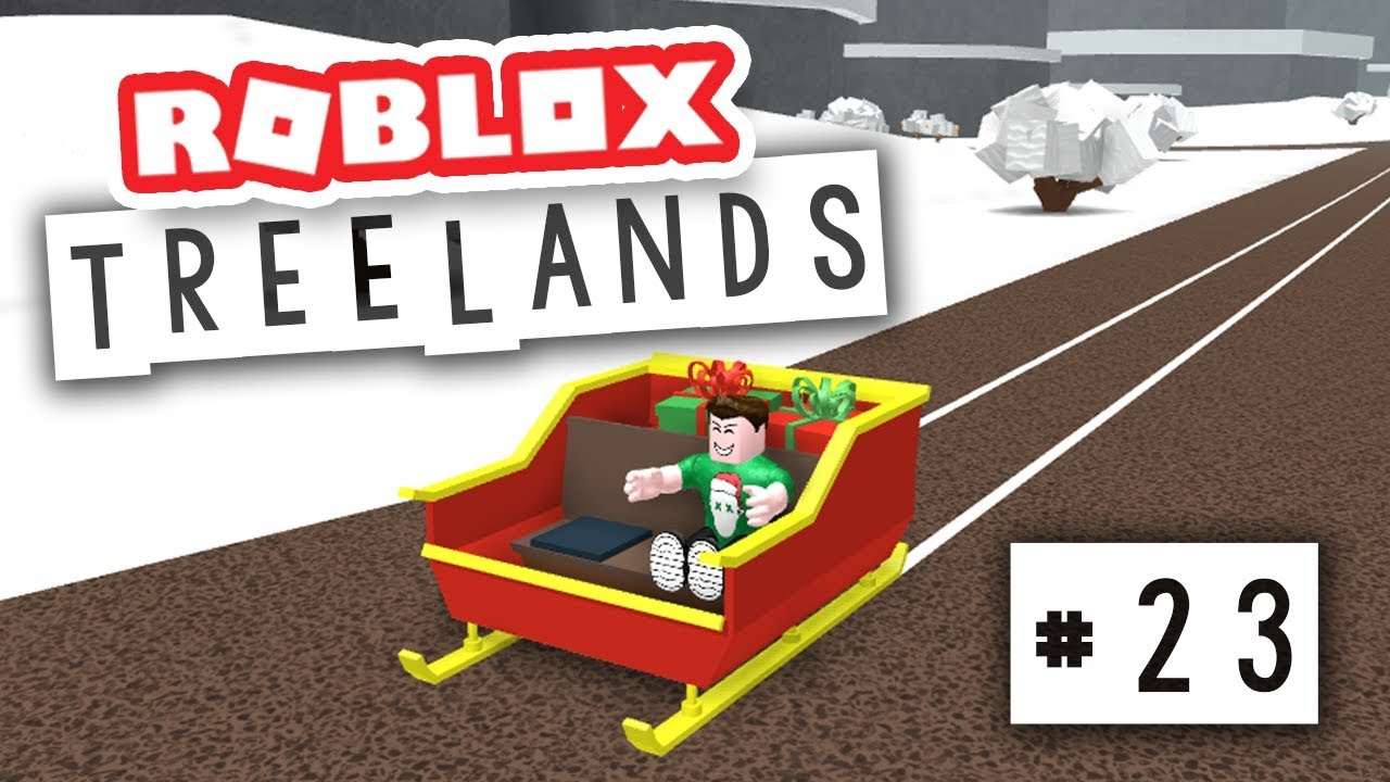 Treelands 23 Santa S Sleigh Vehicle Roblox Treelands Youtube