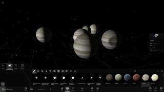 Universe Sandbox 2 実況プレイ 土星の近くに海王星があると. (PC)