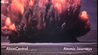 スーダン 原子力爆弾のテスト映像