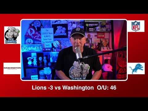 Detroit Lions vs Washington Football Team 11/15/20 NFL Pick and Prediction Sunday Week 10 NFL
