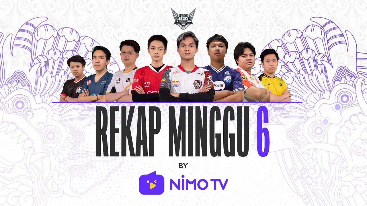 Recap Week 6 by NIMO TV! 🔥