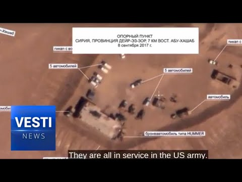 US in Bed With ISIS. Russian Defense Ministry Provides Photo Evidence