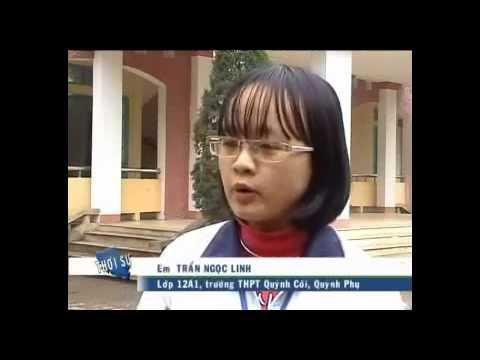 Phóng sự về trường THPT Quỳnh Côi
