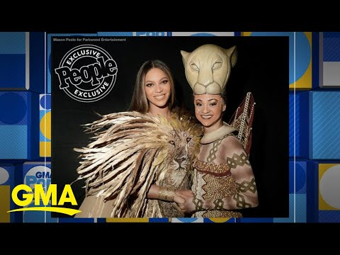 Beyonce meets Broadway Nala actress   GMA