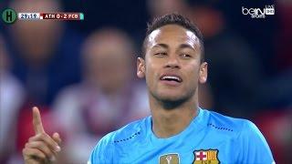 Goals Barcelona vs Athletic Bilbao 2-1 Espanyol of Spain Cup 20/01/2016