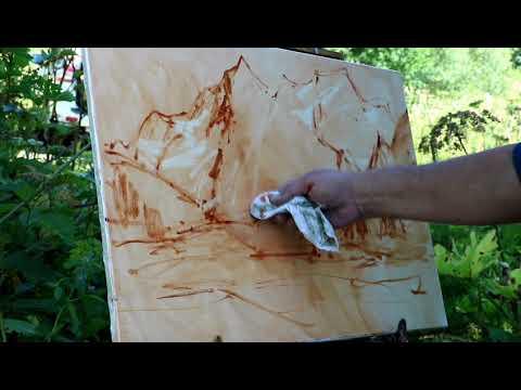 Plein Air 2019 ALEXANDER BABICH, Painting, живопись