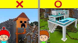 【マイクラ】ゴウキ、崖に家を作る!【ゴウキゲームズ】