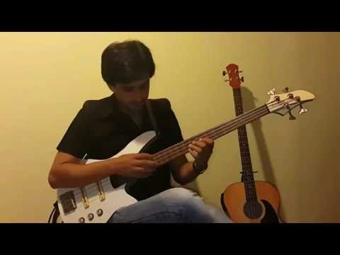Hossein Amini bass solo Tapping, slapping & etc