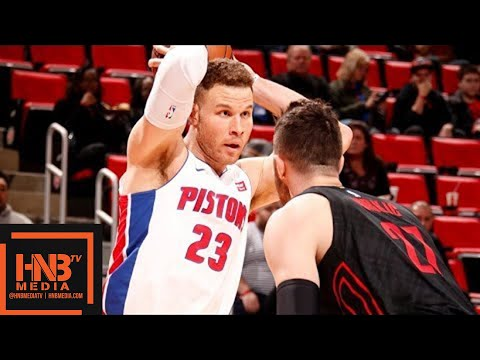 Portland Trail Blazers vs Detroit Pistons Full Game Highlights / Feb 5 / 2017-18 NBA Season