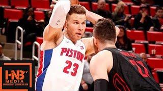 Portland Trail Blazers vs Detroit Pistons Full Game Highlights / Feb 5 / 2017-18 NBA Season