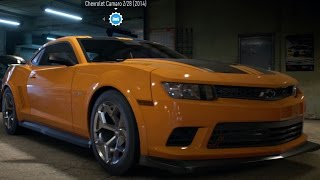 Chevrolet Camaro Z/28 2014 - Need For Speed 2016 - Test Drive Gameplay (PC HD) [1080p60FPS]