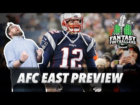 Fantasy Football 2017 - This or That Decisions + AFC East Breakdown - Ep. #404