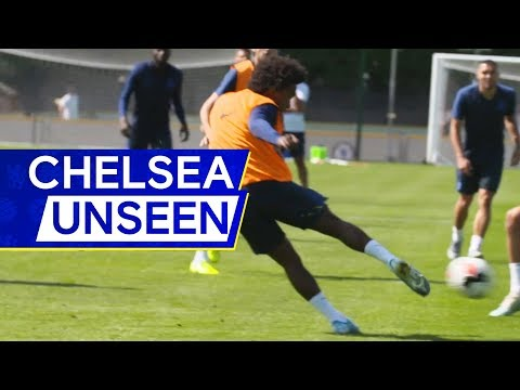 Willian x Abraham Epic Goals in Training ⚽️ 🔥| Chelsea Unseen