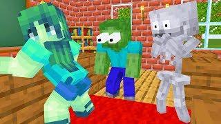 Monster School : BOYS VS GIRLS CHALLENGE - Minecraft Animation