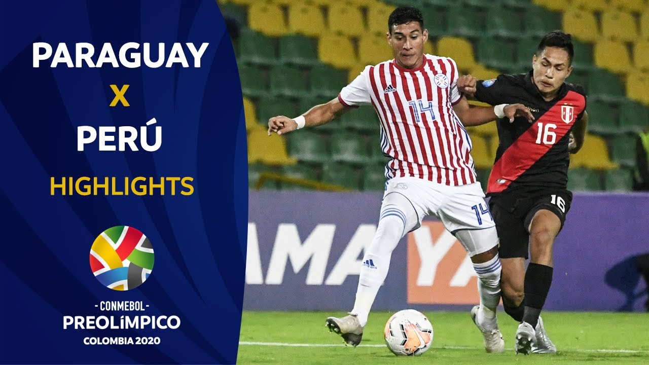 Paraguay 2 3 Peru I Preolimpico 2020 Youtube