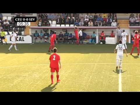 AD CEUTA FC - SEVILLA FC C - 1ª PARTE