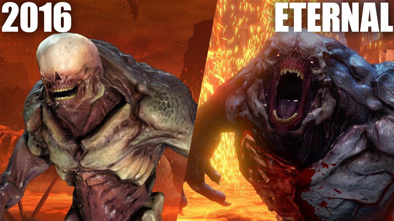 Doom Eternal Vs Doom 2016 5 Major Changes Youtube